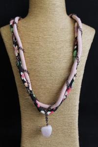 N12 - quartz rose - 37cm